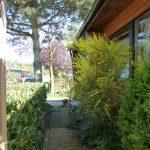 Außenansicht 2. Wohnraum & Garten